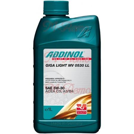 ADDINOL GIGA LIGHT MV LL 5W30 1л син.