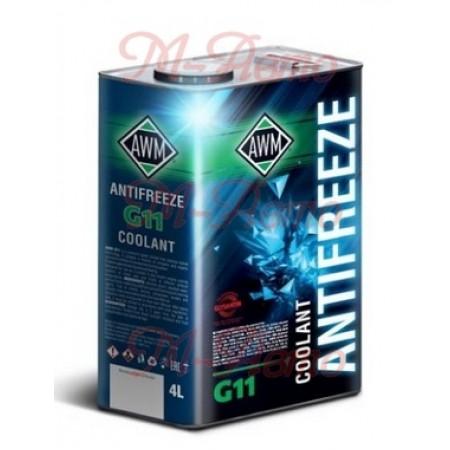 AWM Антифриз G11, 4л. мет.кан.