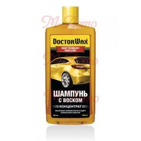 8133DW Автошампунь с воском DOCTOR WAX  600мл
