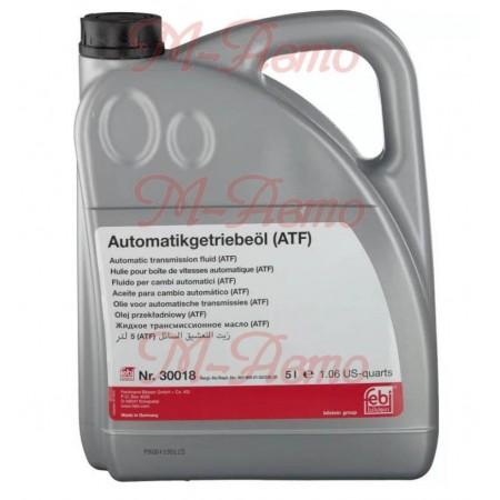 FEBI 30018 Масло ATF для электрон. 5л (MB 236.10, FORD)