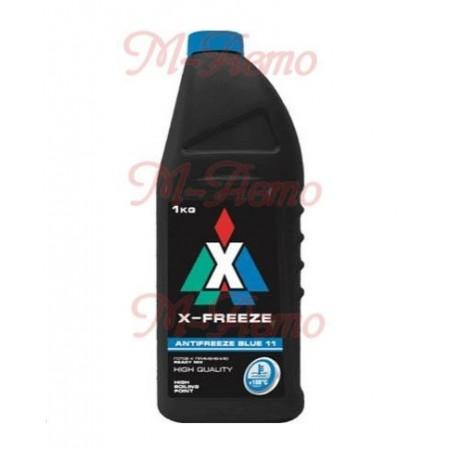 FELIX Антифриз X-FREEZE BLUE (голубой) 1кг