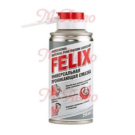 FELIX Смазка универсальная - жидкий ключ, аэрозоль 210мл