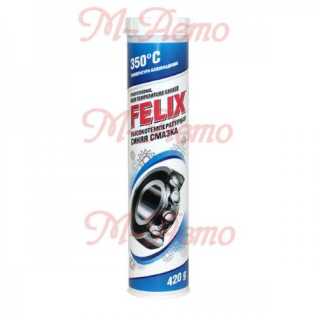 FELIX Смазка Высокотемпературная синяя картр. 420г.
