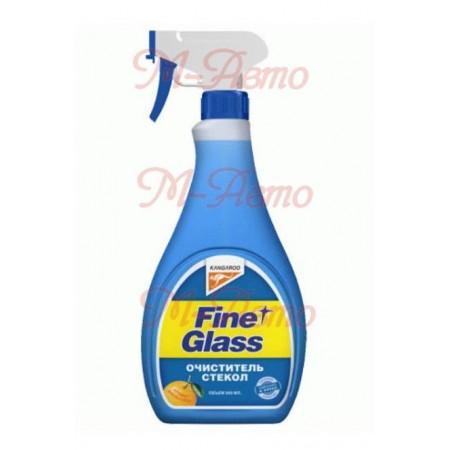 KANGAROO Fine glass - очиститель стекол ароматизированный (500ml)