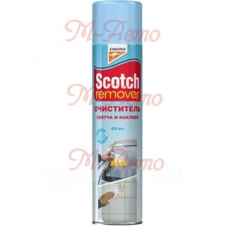 KANGAROO Очиститель скотча и наклеек Scotch Remover, 420 мл