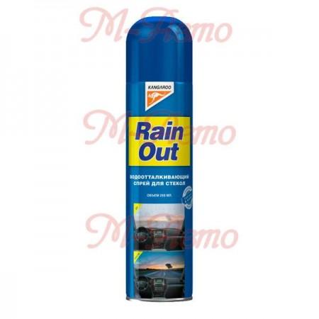 KANGAROO Rain out - спрей водоотталкивающий для стекол (250ml)
