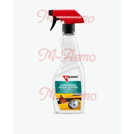 KERRY KR-530 Очиститель следов насекомых и битумных пятен 500мл (триггер)