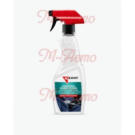 KERRY KR-575 Очиститель велюра и обивки салона (триггер) 500мл