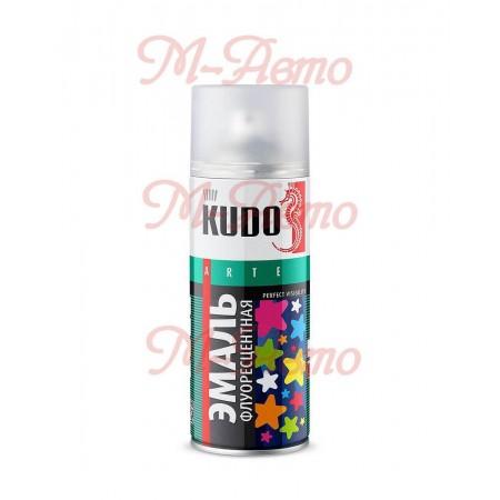 KUDO KU-1206 Эмаль флуоресцентная оранжево-красная