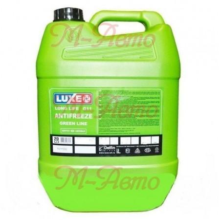 LUXE Антифриз GREEN LINE (зеленый) 20кг