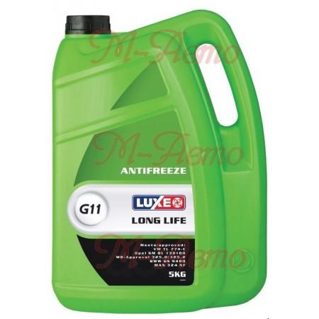 LUXE Антифриз GREEN LINE (зеленый) 5кг