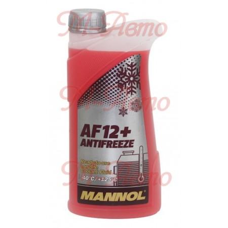 MANNOL АНТИФРИЗ AF12+ Longlife (красный) 1кг -40С