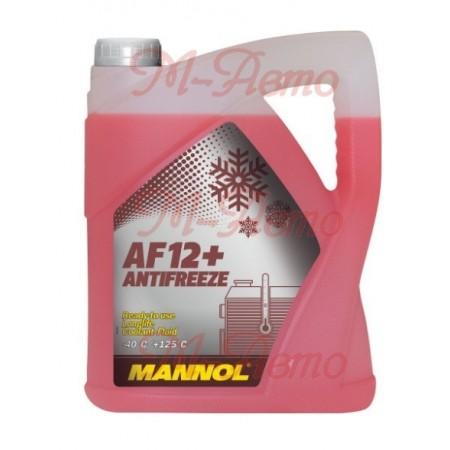 MANNOL АНТИФРИЗ AF12+ Longlife (красный) 5кг -40С
