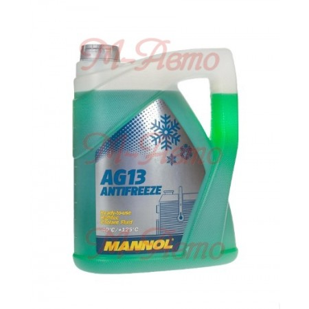 MANNOL АНТИФРИЗ AG13 Hightec (зеленый) 5кг -40С