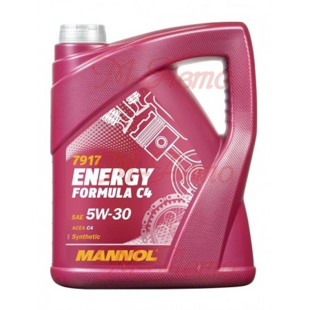 MANNOL ENERGY 5W30 4л АКЦИЯ 3+1
