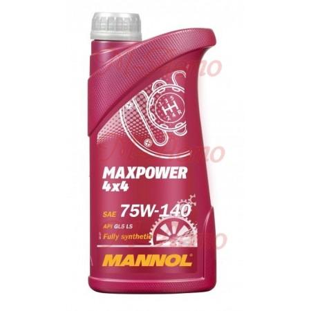 MANNOL MAXPOWER 4*4 75W140 1л. синт.