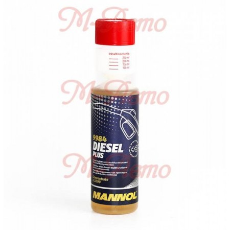 MANNOL Присадка комплексная для диз.топ. Diesel Plus 250мл