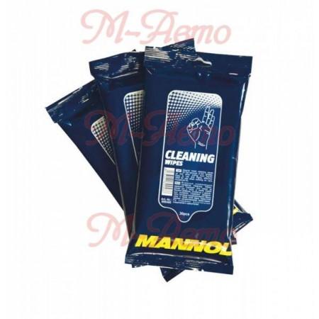 MANNOL Салфетки для рук / Wipes Ocean Fresh / Cleaning Wipes