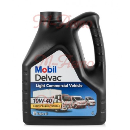 MOBIL DELVAC LIGHT COMMERCIAL VEHICLE 10W40 4л.п/с