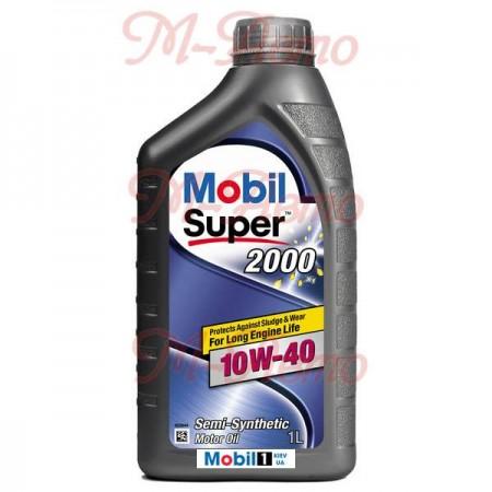 MOBIL SUPER 2000 X1 10W40 1л п/синт