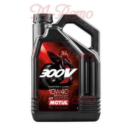 MOTUL 300V 4T FACTORY LINE 10W40 4л
