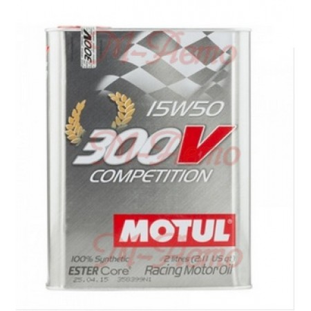 MOTUL 300V COMPETITION ESTER CORE 15W50 2л