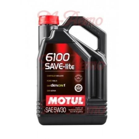 MOTUL 6100 SAVE-LITE GF5 5W30 4л