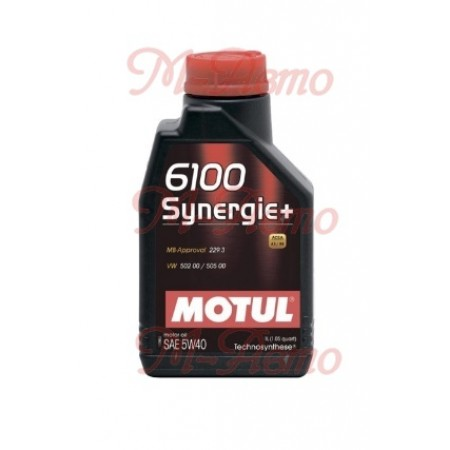 MOTUL 6100 SYNERGIE 5W40 1л