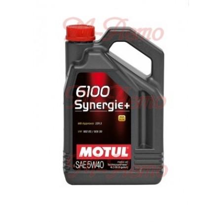 MOTUL 6100 SYNERGIE 5W40 4л