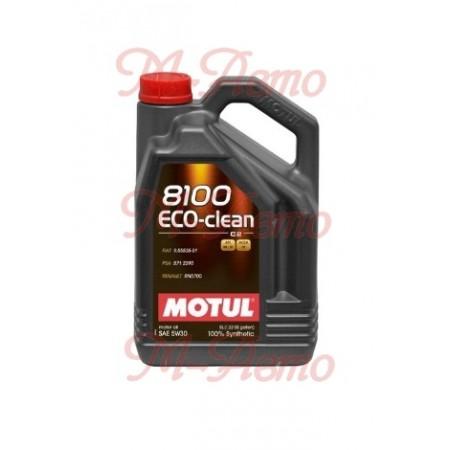 MOTUL 8100 ECO-CLEAN 5W30 5л