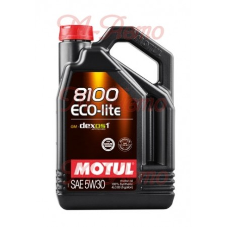 MOTUL 8100 ECO-LITE 5W30 4л