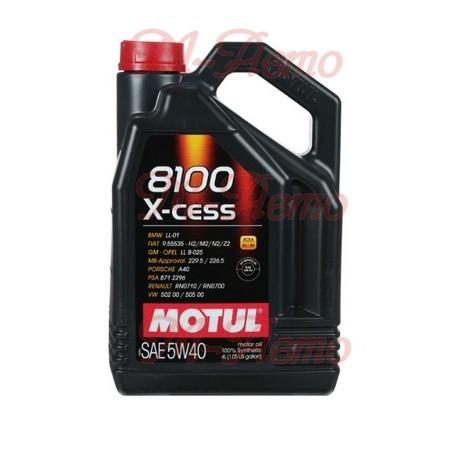 MOTUL 8100 X-CESS 5W40 4л