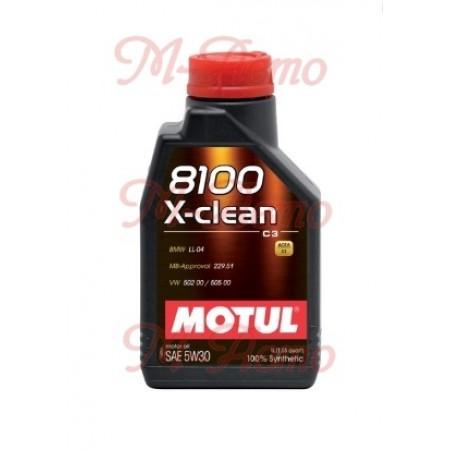 MOTUL 8100 X-CLEAN+ С3 5W30 1л
