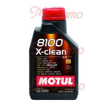 MOTUL 8100 X-CLEAN С3 5W40 1л