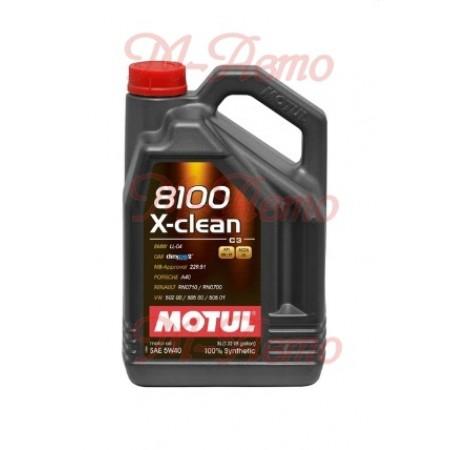 MOTUL 8100 X-CLEAN+ С3 5W30 5л
