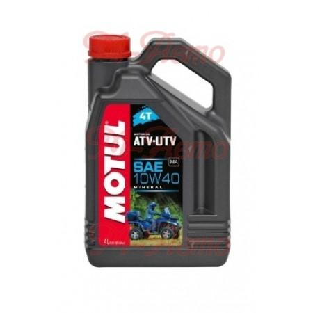 MOTUL ATV-UTV 4T 10W40 4л мин