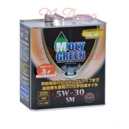 MOLY GREEN BLACK SM/GF-4 5W30 3л