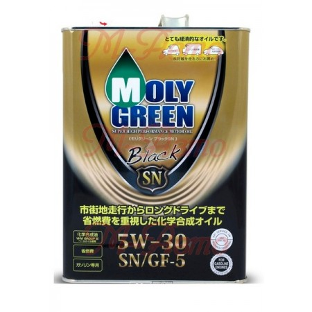 MOLY GREEN BLACK SN/GF-5 5W30 4л