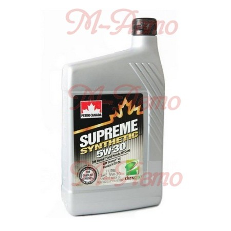 PETRO CANADA SUPREME SYNTHETIC MOTOR OIL 5W30 1л синт.