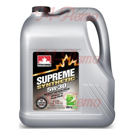 PETRO CANADA SUPREME SYNTHETIC MOTOR OIL 5W30 4л синт.