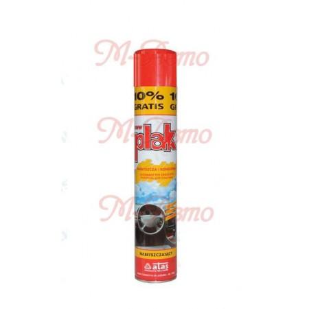 PLAK Полироль пластика - atas +10%  Клубника аэрозоль - 750мл