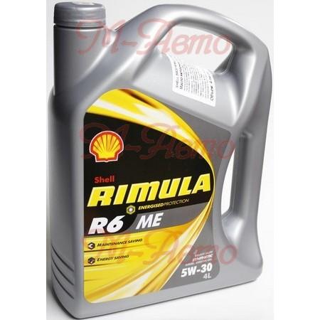 SHELL DIESEL RIMULA R6 ME 5W30 4л синт