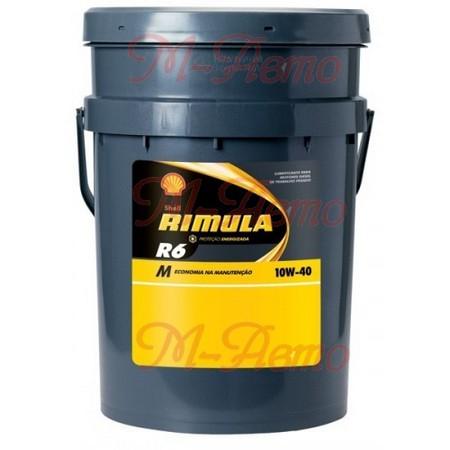 SHELL DIESEL RIMULA R6 M 10W40 20л синт