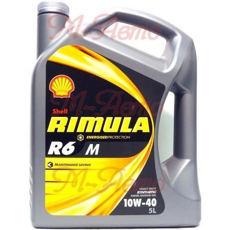 SHELL DIESEL RIMULA R6 M 10W40 4л синт