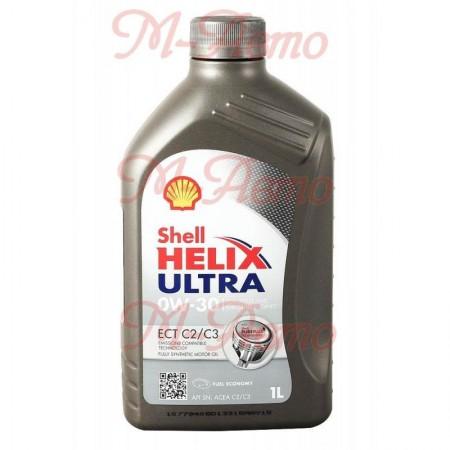 SHELL ULTRA ECT C2/C3 0W30 1л синт