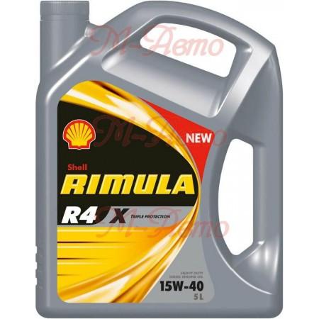 SHELL DIESEL RIMULA R4 X 15W40 5л мин