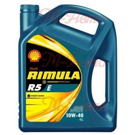 SHELL DIESEL RIMULA R5 E 10W40 4л п/с