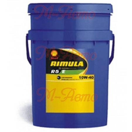 SHELL DIESEL RIMULA R5 E 10W40 20л п/с