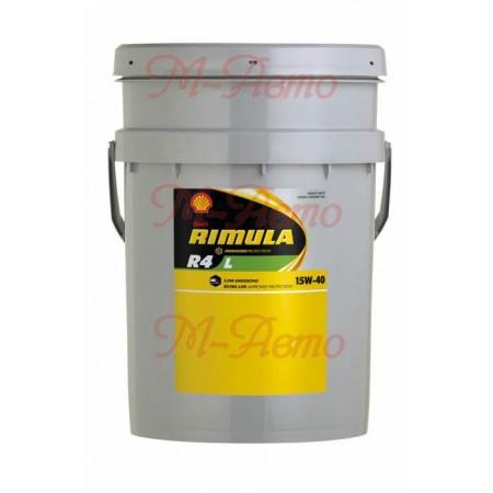 SHELL DIESEL RIMULA R4 L 15W40 20л мин