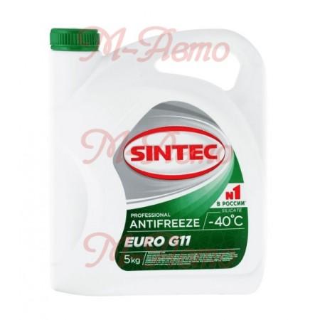 SINTEC Антифриз EURO G11 5кг